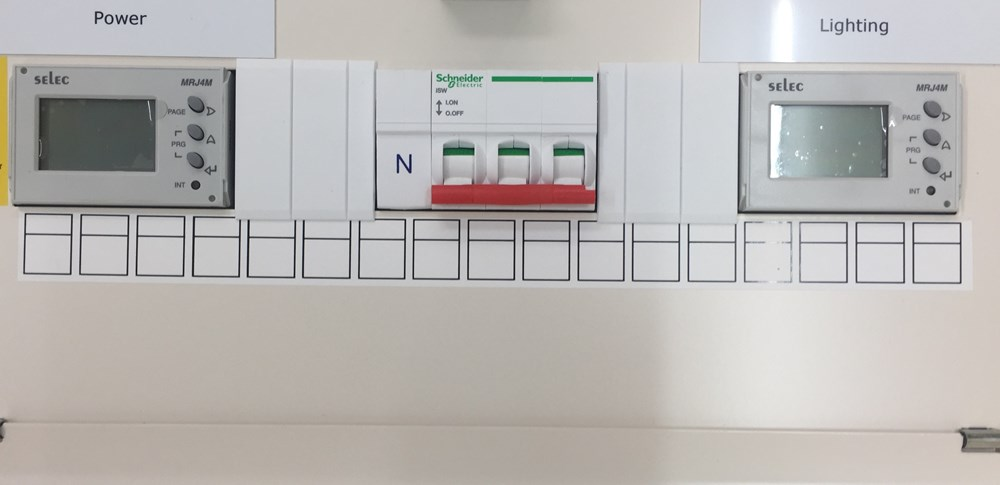 Split load Lighting & Power Distribution Boards